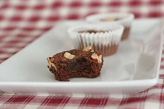 Nutella Fudge Brownies | www.tasteandtellblog.com