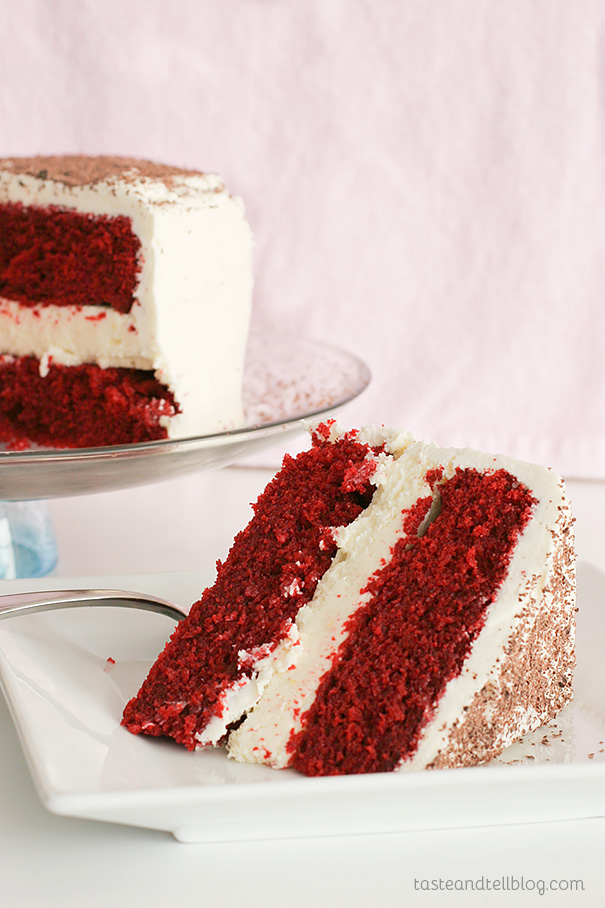 How To Make Thick Frosting For Red Velvet Cake