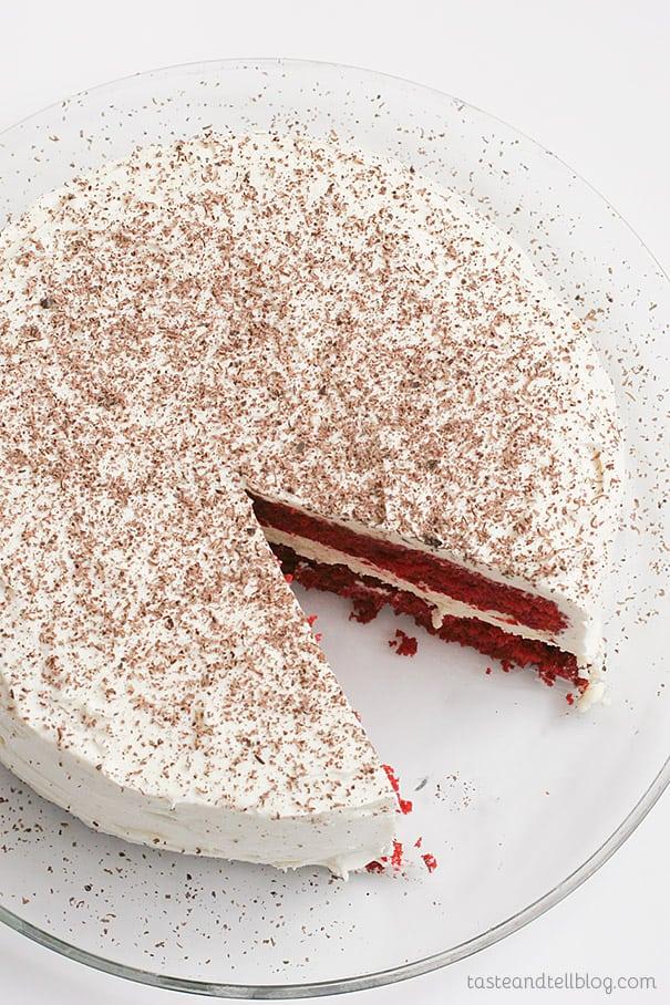 Recipe for Red Velvet Cheesecake Cake