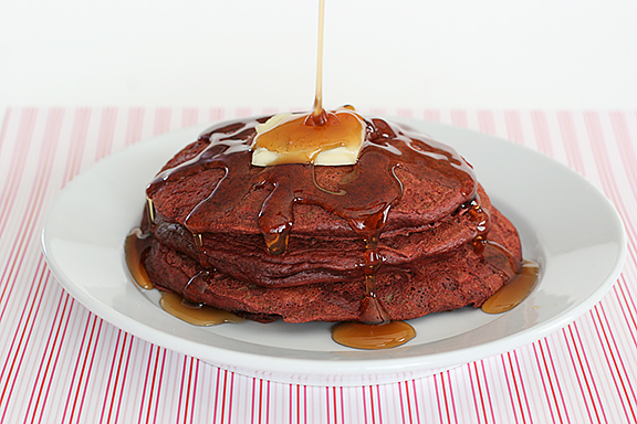 Red Velvet Week – Red Velvet Pancakes
