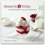 Cookbook of the Month Review – Desserts 4 Today