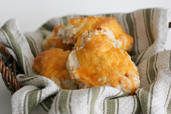 Cheese and Bacon Biscuits | www.tasteandtellblog.com