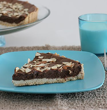 Chocolate Ricotta Pie | www.tasteandtellblog.com