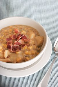 Crock Pot Corn Chowder | www.tasteandtellblog.com