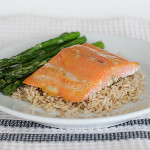 Honey Mustard Salmon | www.tasteandtellblog.com