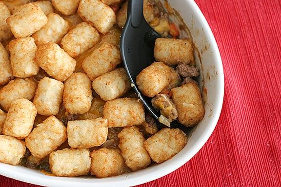 Saturdays with Rachael Ray – Potato Tot-Topped Shepherd's Pie