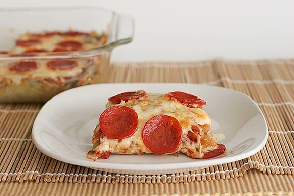 Potato Pizza Pie   www.tasteandtellblog.com