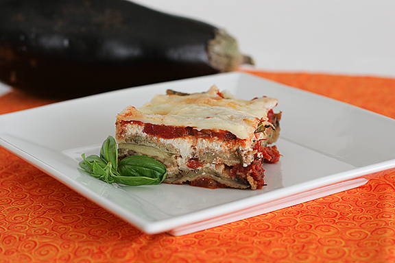 Scalini's Eggplant Parmesan | www.tasteandtellblog.com