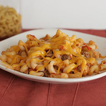 Taco Macaroni and Cheese on Taste and Tell