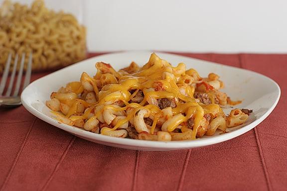 Taco Macaroni and Cheese   www.tasteandtellblog.com
