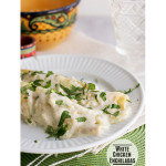 White Chicken Enchiladas | www.tasteandtellblog.com #recipe #chicken