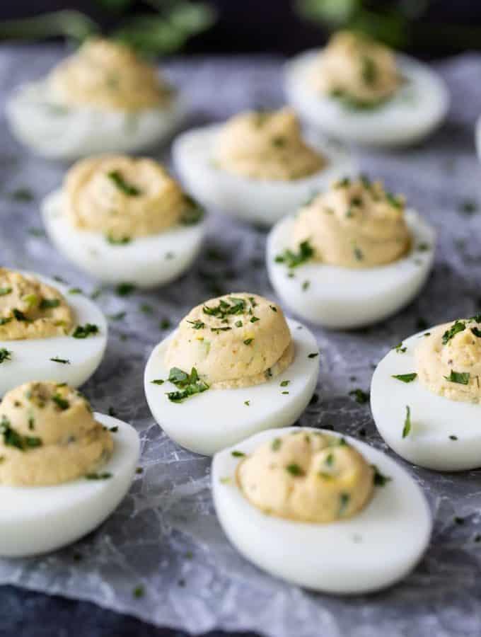 Asian Deviled Eggs Recipe