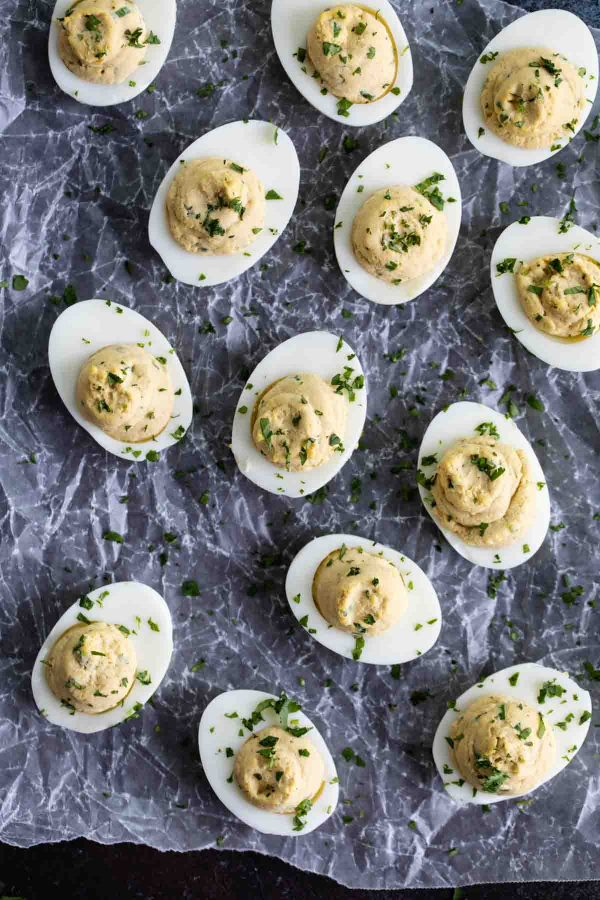 How to make Asian Deviled Eggs