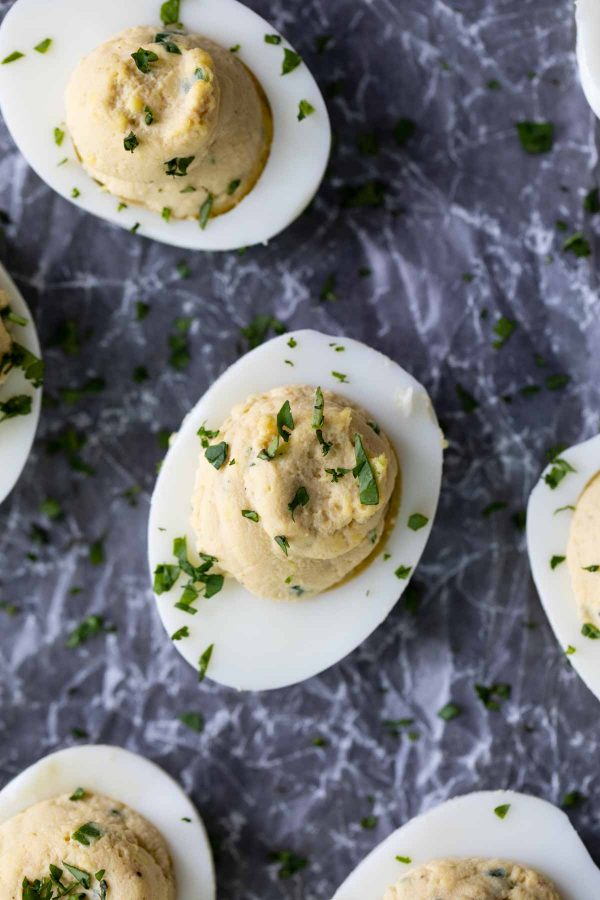Deviled Eggs with Asian Flavors