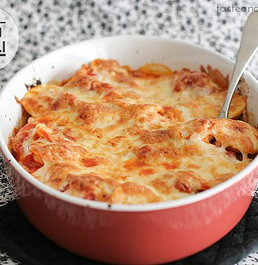 Baked Ravioli | www.tasteandtellblog.com #recipe #pasta