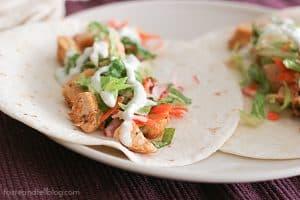 Buffalo Chicken Tacos | www.tasteandtellblog.com