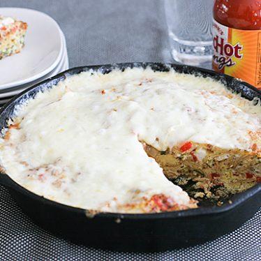 Chorizo-Tortilla Tortilla | www.tasteandtellblog.com