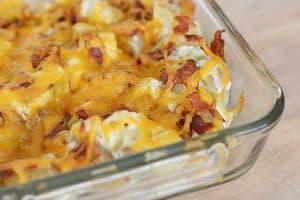 Creamy Dill New Potato Casserole | www.tasteandtellblog.com