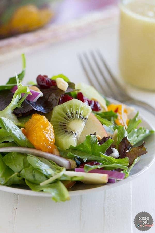 Steph's Summer Salad on Taste and Tell
