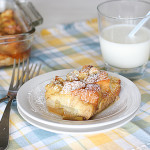 Cookbook of the Month Recipe – Baked Pear Vanilla French Toast
