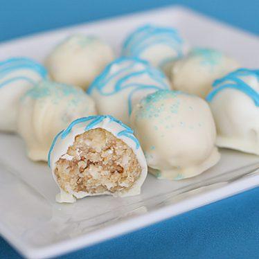 Coconut Cake Truffles | www.tasteandtellblog.com