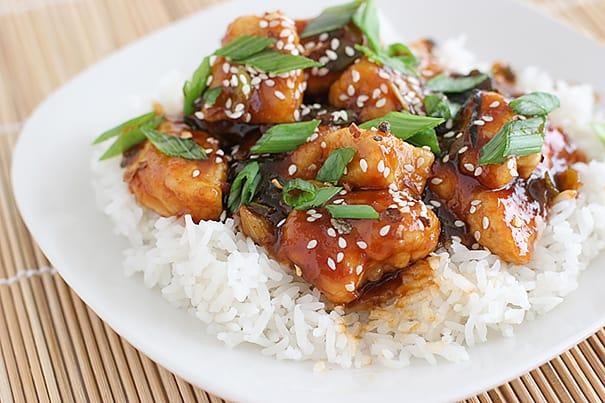 General Tso's Chicken   www.tasteandtellblog.com