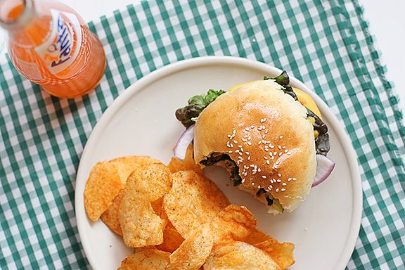 Homemade Hamburger Buns | www.tasteandtellblog.com
