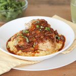 Italian BBQ Chicken with Polenta | www.tasteandtellblog.com