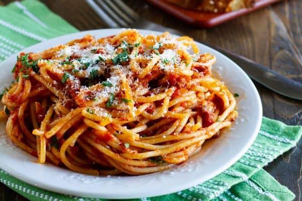 Easy Spaghetti Meat Sauce Recipe Taste And Tell
