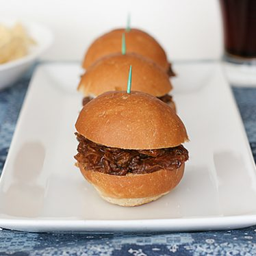 Ting Town Barbecue Beef Sandwiches | www.tasteandtellblog.com