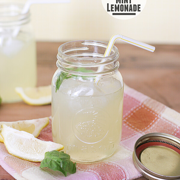 Basil and Mint Lemonade | www.tasteandtellblog.com