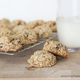 Chocolate Chip Banana Cookies | www.tasteandtellblog.com