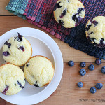 Corn Blueberry Muffins on Taste and Tell