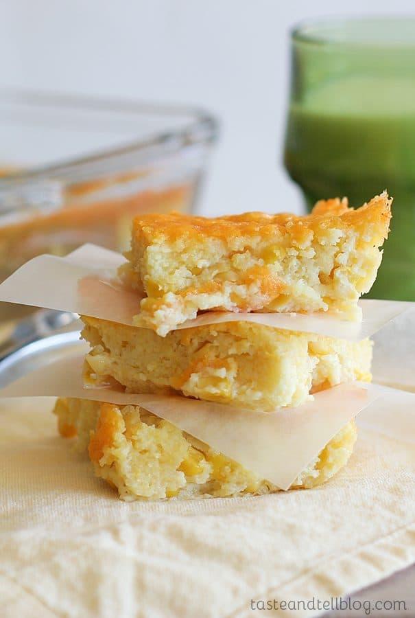 Corn Casserole Recipe {Cookbook of the Month Recipe}