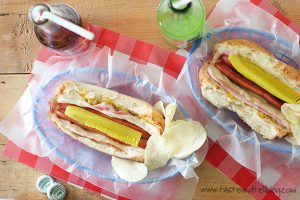 Cubano Hot Dogs | www.tasteandtellblog.com