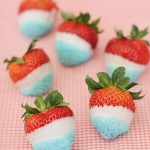 4th of July Dipped Strawberries