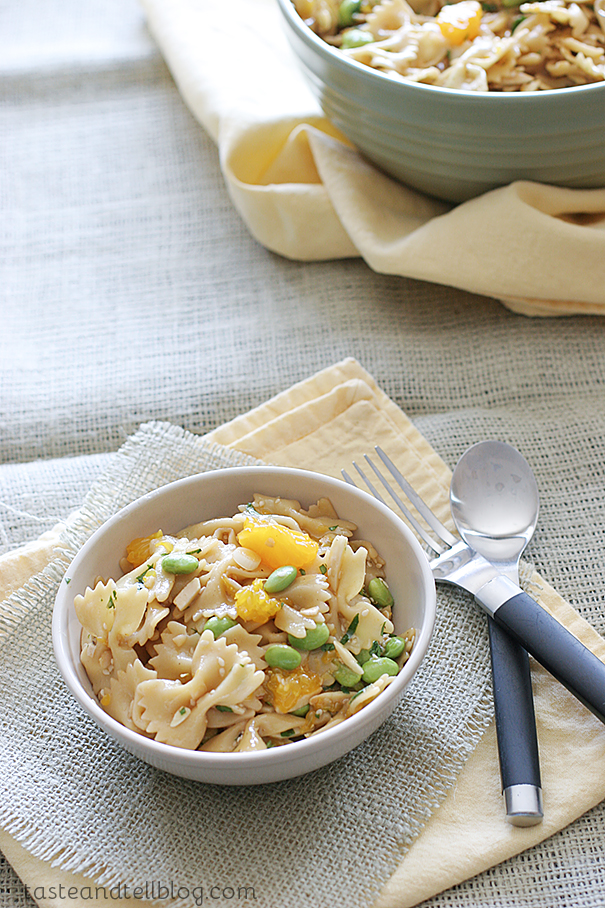 Oriental Pasta Salad from Taste and Tell
