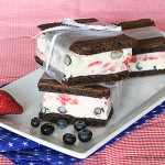 4th of July Week – Red, White & Blue Ice Cream Sandwiches