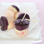 Strawberry Blueberry Pudding Pops | www.tasteandtellblog.com