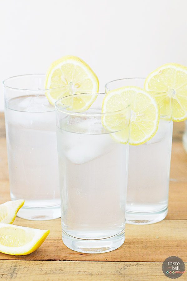 A family favorite - we have been making this Sweet Lemon Water Recipe for years. Sweet and tart - everyone will ask for the recipe!