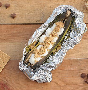 Banana Boats | www.tasteandtellblog.com