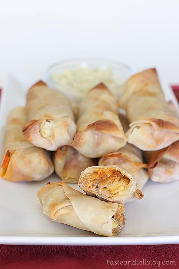 Buffalo Chicken Rolls | www.tasteandtellblog.com