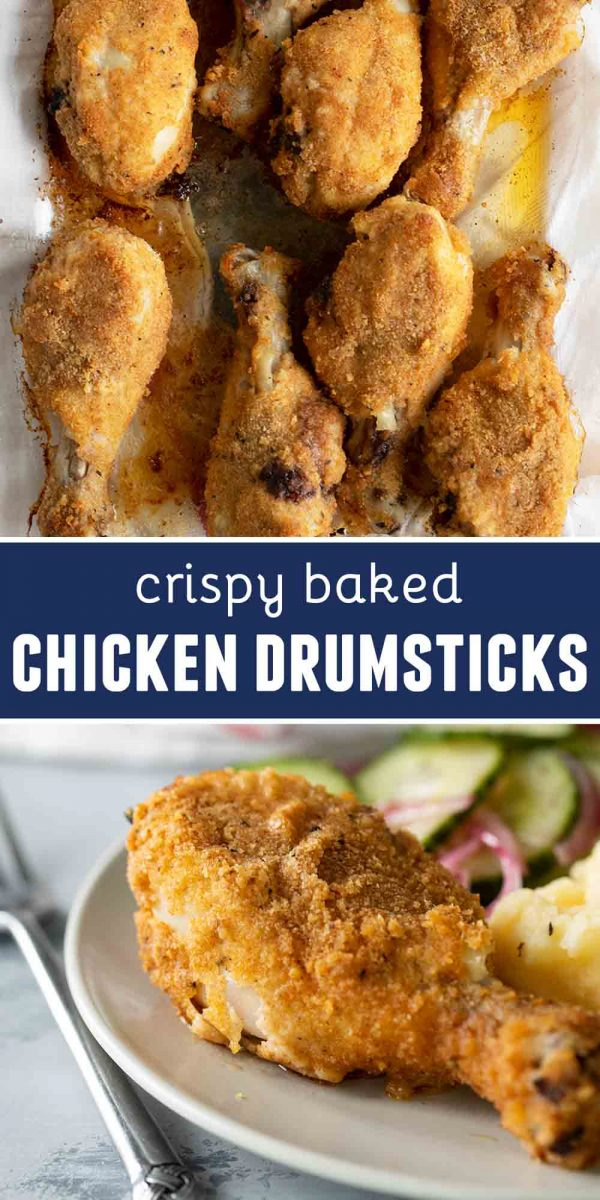 Crispy Baked Chicken Drumsticks Recipe