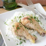 Oven Baked Drumsticks on Taste and Tell