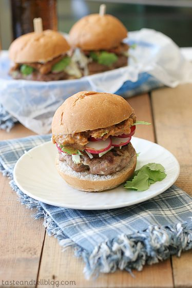 Satay Sliders | Taste and Tell