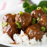 Sweet and Sour Meatballs Recipe