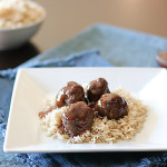 Sweet and Sour Meatballs | www.tasteandtellblog.com