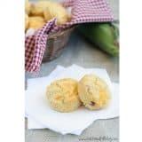 Bacon Cheddar Corn Muffins | www.tasteandtellblog.com