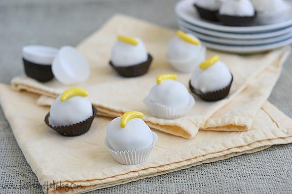 Banana foster cake balls recipe