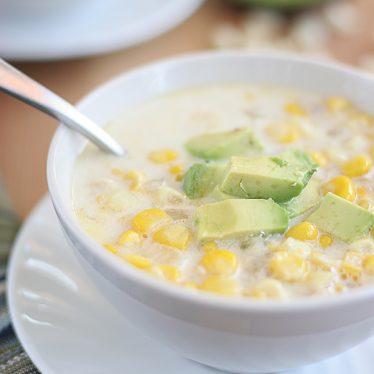 Crab and Corn Soup | www.tasteandtellblog.com